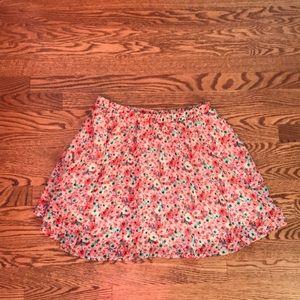 Wet Seal Floral Skirt
